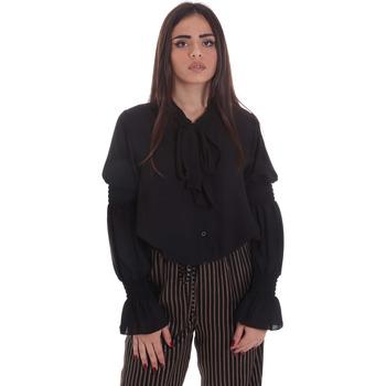 vaatteet Naiset Topit / Puserot Gaudi 021BD45025 Musta