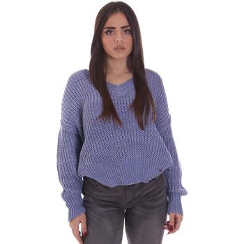vaatteet Naiset Neulepusero Gaudi 021BD53014 Sininen