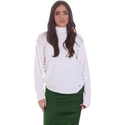 vaatteet Naiset Neulepusero Gaudi 021BD53026 Valkoinen