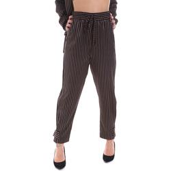vaatteet Naiset Chino-housut / Porkkanahousut Gaudi 021FD25017 Musta