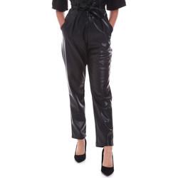 vaatteet Naiset Chino-housut / Porkkanahousut Gaudi 021FD28001 Musta