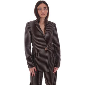 vaatteet Naiset Takit / Bleiserit Gaudi 021FD35031 Musta
