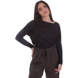 vaatteet Naiset T-paidat pitkillä hihoilla Gaudi 021FD64014 Musta