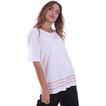 vaatteet Naiset Lyhythihainen t-paita Ea7 Emporio Armani 6HTT32 TJ52Z Valkoinen