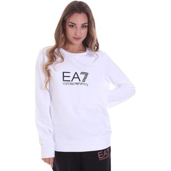vaatteet Naiset Svetari Ea7 Emporio Armani 8NTM39 TJ31Z Valkoinen