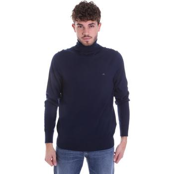 vaatteet Miehet Neulepusero Calvin Klein Jeans K10K102751 Sininen