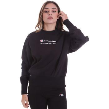 vaatteet Naiset Svetari Champion 113314 Musta