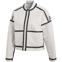 vaatteet Naiset Ulkoilutakki adidas Originals CF1465 Valkoinen