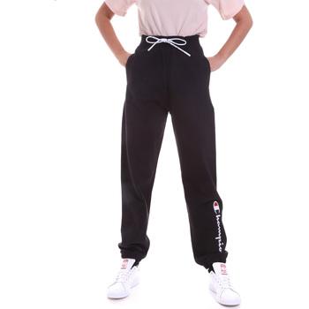 vaatteet Naiset Verryttelyhousut Champion 113192 Musta