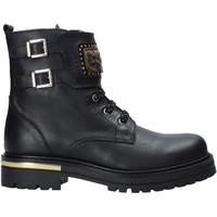 kengät Lapset Bootsit NeroGiardini I021581F Musta