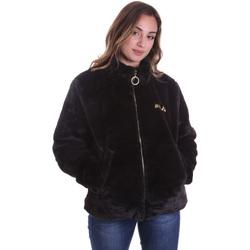 vaatteet Naiset Paksu takki Fila 688396 Musta