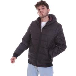 vaatteet Miehet Toppatakki Gaudi 021GU35007 Musta