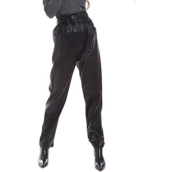 vaatteet Naiset Chino-housut / Porkkanahousut Liu Jo WF0233 E0392 Musta