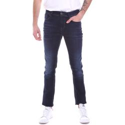 vaatteet Miehet Slim-farkut Gaudi 021GU26002L32 Sininen