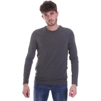 vaatteet Miehet T-paidat pitkillä hihoilla Gaudi 021GU64022 Harmaa