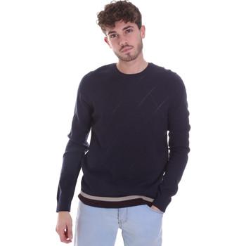 vaatteet Miehet Neulepusero Gaudi 021GU53022 Sininen