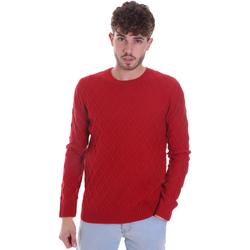 vaatteet Miehet Neulepusero Gaudi 021GU53034 Punainen