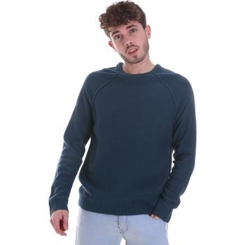 vaatteet Miehet Neulepusero Gaudi 021GU53041 Sininen