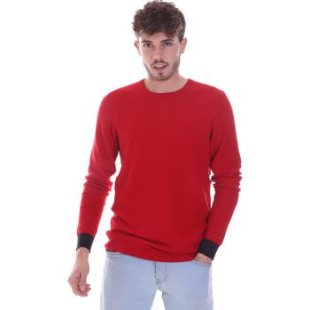 vaatteet Miehet Neulepusero Gaudi 021GU53006 Punainen