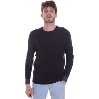 vaatteet Miehet Neulepusero Gaudi 021GU53006 Sininen