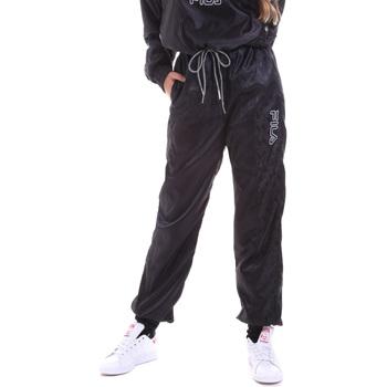 vaatteet Naiset Verryttelyhousut Fila 682873 Musta