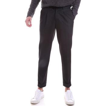 vaatteet Miehet Chino-housut / Porkkanahousut Sseinse PSI687SS Harmaa