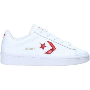 kengät Lapset Matalavartiset tennarit Converse 368404C Valkoinen