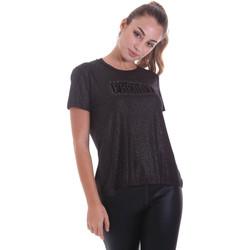 vaatteet Naiset Lyhythihainen t-paita Freddy F0WALT2 Musta