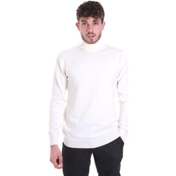 vaatteet Miehet Neulepusero Sseinse MI1620SS Valkoinen