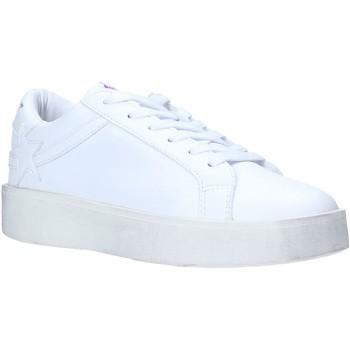 kengät Naiset Matalavartiset tennarit Shop Art SA030060 Valkoinen