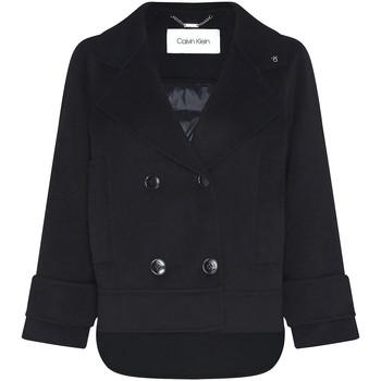 vaatteet Naiset Paksu takki Calvin Klein Jeans K20K202461 Musta