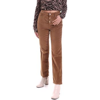 vaatteet Naiset 5-taskuiset housut Liu Jo WF0312 T4590 Ruskea