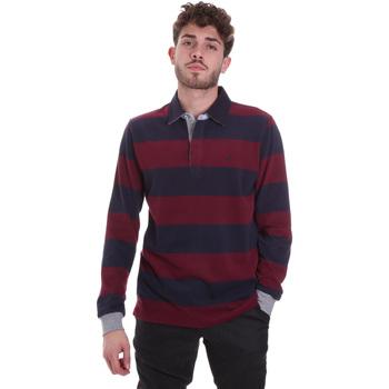 vaatteet Miehet T-paidat & Poolot Navigare NV30029 Punainen