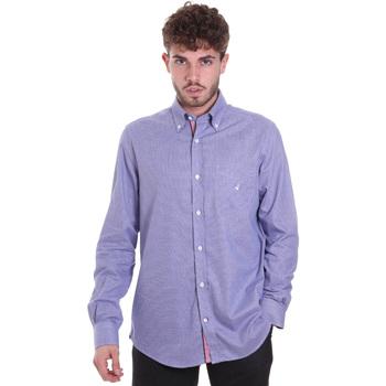 vaatteet Miehet Pitkähihainen paitapusero Navigare NV91133 BD Sininen
