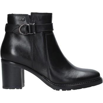 kengät Naiset Nilkkurit Valleverde 46084 Musta