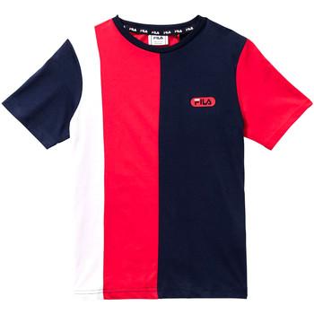 vaatteet Lapset Lyhythihainen t-paita Fila 688008 Punainen