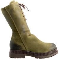kengät Naiset Bootsit Bueno Shoes 20WM3006 Vihreä