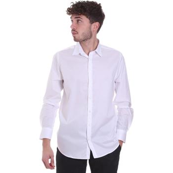 vaatteet Miehet Pitkähihainen paitapusero Sseinse CI543SS Valkoinen