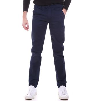 vaatteet Miehet Chino-housut / Porkkanahousut Sseinse PSI646SS Sininen