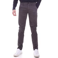 vaatteet Miehet Chino-housut / Porkkanahousut Sseinse PSI646SS Harmaa