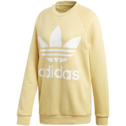 vaatteet Naiset Svetari adidas Originals CY4758 Keltainen