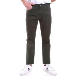 vaatteet Miehet Chino-housut / Porkkanahousut Navigare NV53090 Vihreä