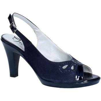 kengät Naiset Korkokengät Grace Shoes E8174 Sininen