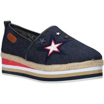 kengät Naiset Espadrillot Wrangler WL181652 Sininen