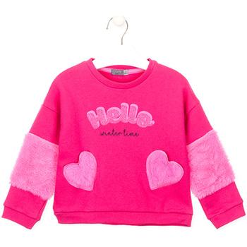 vaatteet Tytöt Svetari Losan 026-6023AL Vaaleanpunainen