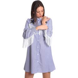 vaatteet Naiset Lyhyt mekko Denny Rose 811DD10018 Sininen
