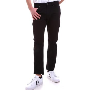 vaatteet Miehet 5-taskuiset housut Navigare NV53095 Musta