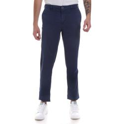 vaatteet Miehet Chino-housut / Porkkanahousut Navigare NV55183 Sininen