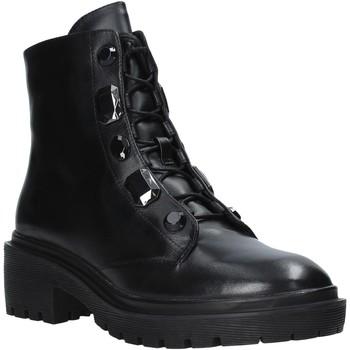 kengät Naiset Bootsit Apepazza F0COMBAT07/DIA Musta