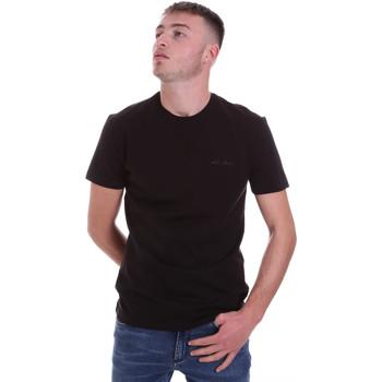 vaatteet Miehet Lyhythihainen t-paita Antony Morato MMKS01855 FA120022 Musta